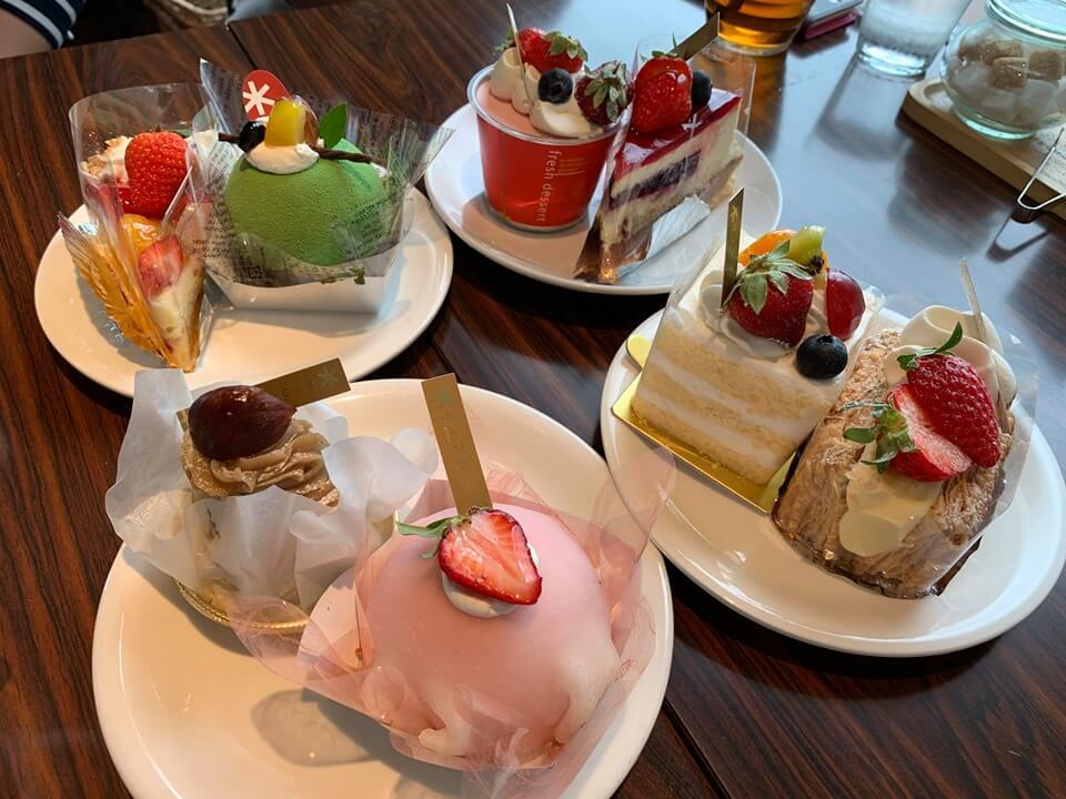 松江 ケーキ バイキング